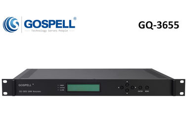 China GQ-3655 IPQAM Multi-funcional, re-multiplexando, scrambling e modulando distribuidor